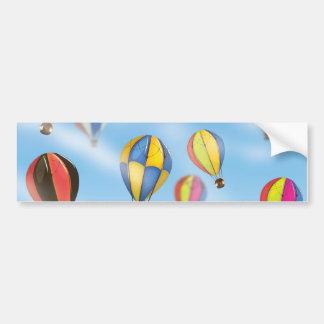 Heißluft-Ballone Autoaufkleber