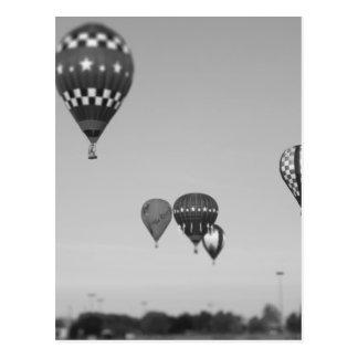 Heißluft-Ballone, BallonFest, Olathe, Kansas 3 Postkarten