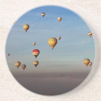 Heißluft-Ballone, Cappadocia Sandstein Untersetzer