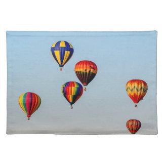 Heißluft-Ballone Tischset
