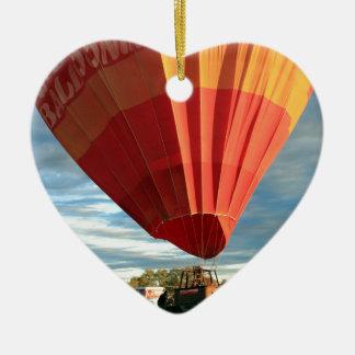 Heißluftballon des Hinterlandes, Australien Keramik Ornament
