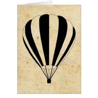 Heißluftballon Karte