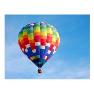 Heißluftballon Postkarten