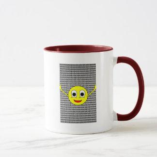 Heiter: Tasse des Kaffees