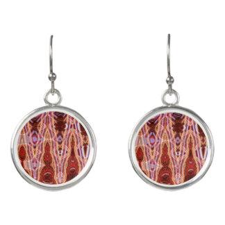 Heitere Punkt-Tropfen-Ohrringe durch Künstler C.L. Ohrringe