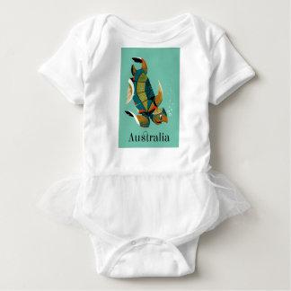 Heitre australische Meeresschildkröte Baby Strampler