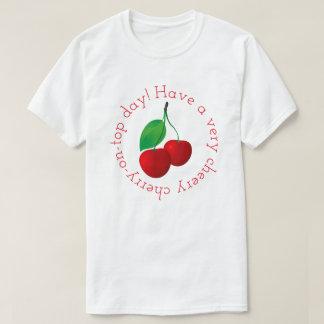 Heitrer Kirschtag T-Shirt