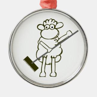 Held der Arbeit Silbernes Ornament