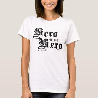Held ist mein Held-Schwarz-angemessenes T-Shirt