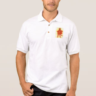 Held-Katze Polo Shirt