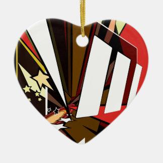 Held Keramik Herz-Ornament