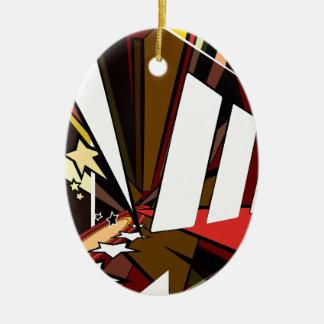 Held Keramik Ornament
