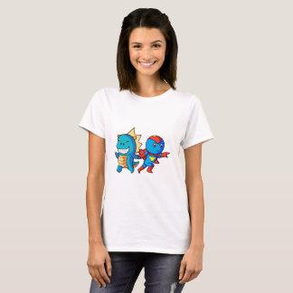 Held und Dino!! T-Shirt