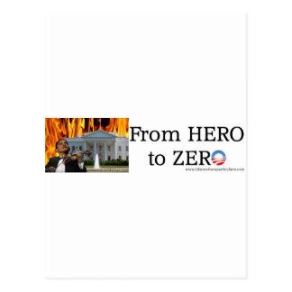 Held zu Zero2 Postkarte