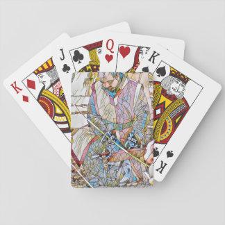 Heldenritter-Spielkarte-Plattform Spielkarten