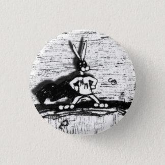 Heldenverehrung-Haseknopf Runder Button 2,5 Cm