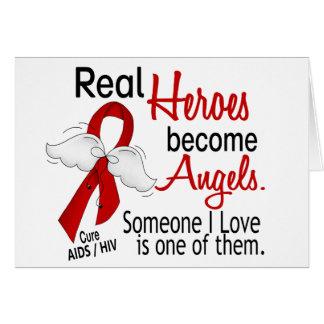 Helder werden Engel AIDS Karte
