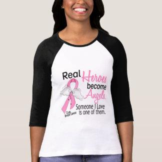 Helder werden Engels-Brustkrebs T-Shirt