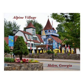 Helen. Georgia-Postkarte Postkarte