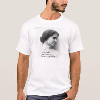 """Helen Keller""""das Leben ist Abenteuer-"""" T-Shirt"""