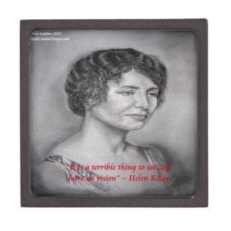 Helen Keller, die Visions-Klugheits-Zitat hat Kiste