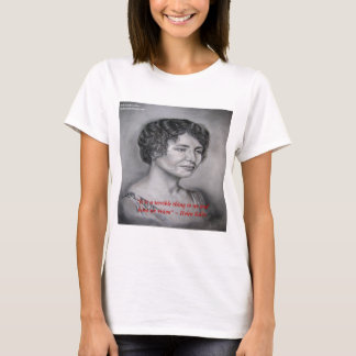 Helen Keller, die Visions-Klugheits-Zitat hat T-Shirt