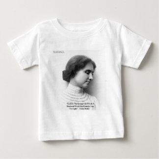 "Helen Keller""Glauben-/Stärken-"" Baby T-shirt"
