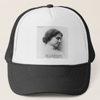 "Helen Keller""Glauben-/Stärken-"" Truckerkappe"