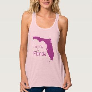 Helfen Sie Florida nach Hurrikan Irma-Rosa und Tank Top