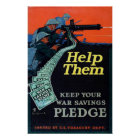 Helfen Sie ihnen Poster