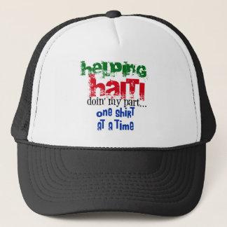 Helfendes Haiti Truckerkappe