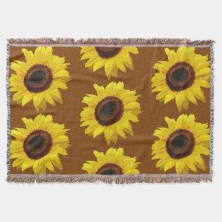 Helianthus Annuus - Wurfs-Decke Decke