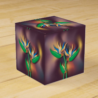 Heliconia Blumen Geschenkschachtel