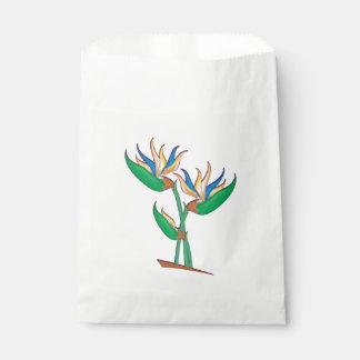 Heliconia Blumenstrauß Geschenktütchen