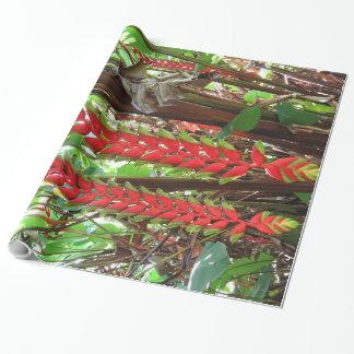 Heliconia Geschenkpapier