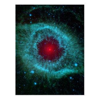 helix-nebula-11156 planetarischer Nebel, Postkarte