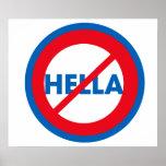 Hella ist nicht ein Wort-Plakat