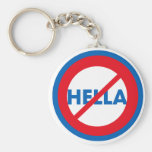 Hella ist nicht ein Wort Schlüsselanhänger