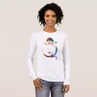 Hellbender Skelett Langarm T-Shirt