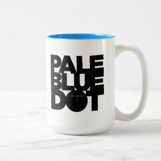 Hellblau Zweifarbige Tasse