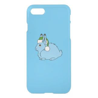 Hellblaue arktische Hasen mit grüner iPhone 8/7 Hülle