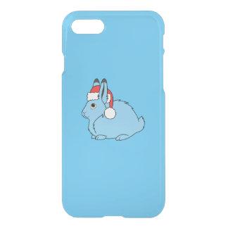 Hellblaue arktische Hasen mit roter iPhone 8/7 Hülle