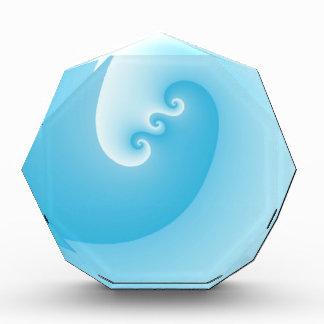 Hellblaue Welle Auszeichnung