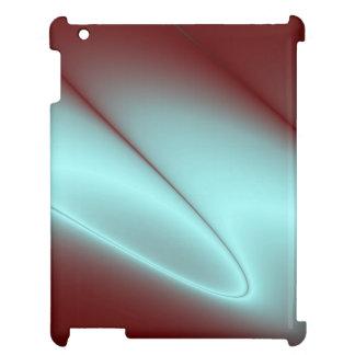 Hellblauer Blitz iPad Hülle