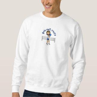 Hellblauer Boxer Sweatshirt