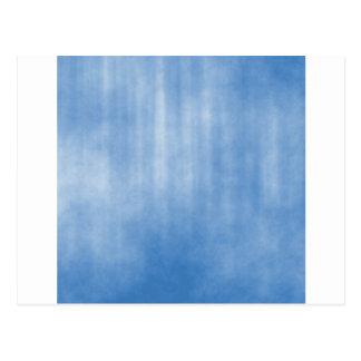 Hellblauer gestreifter Schmutz-Entwurf Postkarte