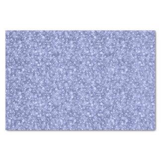 Hellblauer Glitter und Glitzern Seidenpapier