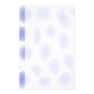 Hellblaues Muster Personalisiertes Druckpapier