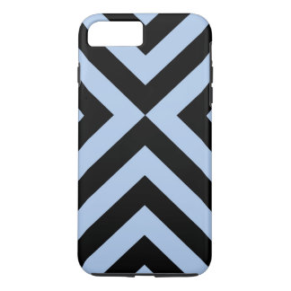 Hellblaues und schwarzes Sparren iPhone 8/7 iPhone 8 Plus/7 Plus Hülle