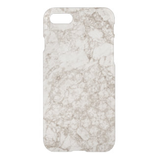 Hellbrauner Marmorblick iPhone 7 Hülle